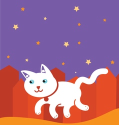 Kitty cat vector