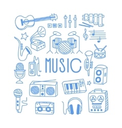 Music related object set with text vector