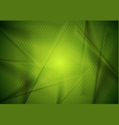 abstract bright green tech modern background vector image vector image