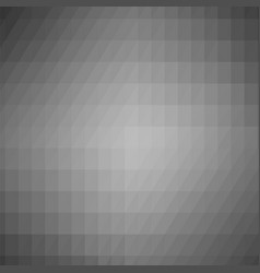 abstract grey triangle background vector image vector image