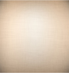 Brown linen texture vector image
