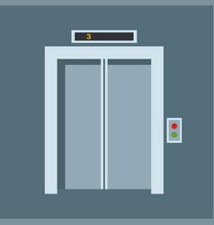 door elevator entrance doorway vector image vector image