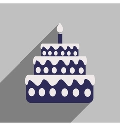 Flat Birthday Cake Vector Images over 4000