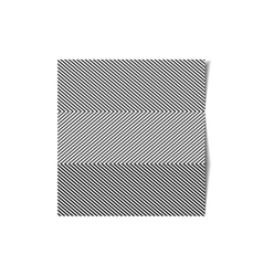 Striped sheet of paper vector image