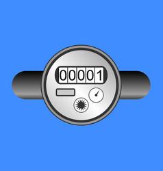 Water meter icon vector