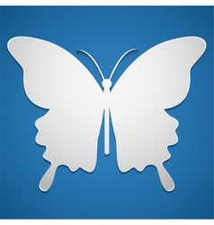 Butterfly icon or background vector