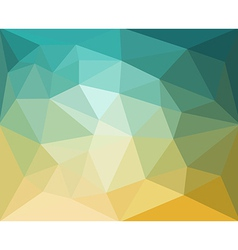 Polygon abstract pattern background in flat color vector