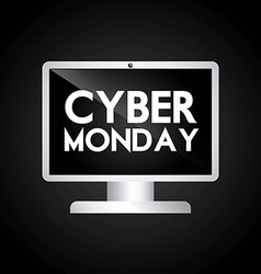 Cyber monday deals vector