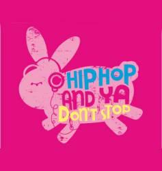 animal hip hop vector image vector image