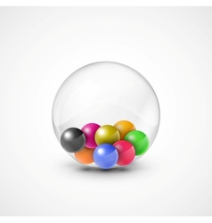 Colorful balls vector image vector image