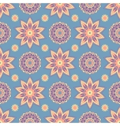 Ethnic floral seamless pattern3 vector