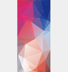 modern flat vertical background of geometric vector image vector image