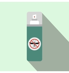 Mosquito spray flat icon vector image