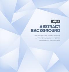 Polygonal Background Blue vector image