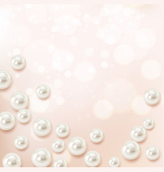 Shell particles realistic composition vector