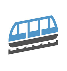 Urban transport icon vector