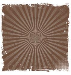 grunge star burst vector image