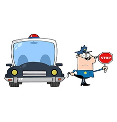 Traffic Police vector image