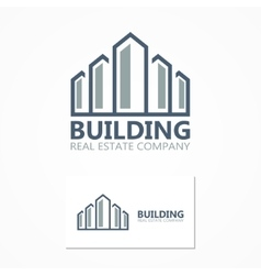 building icon or logo vector image