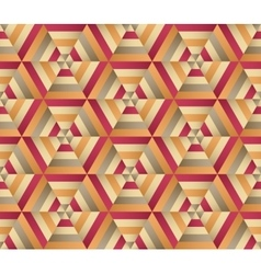 Hexagon background seamless geometrical pattern vector image vector image