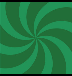 Green and light-green twirl background with vector