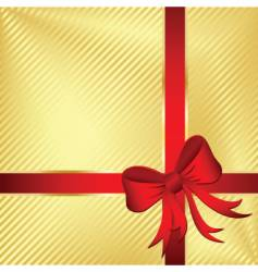 wrapped gift vector image