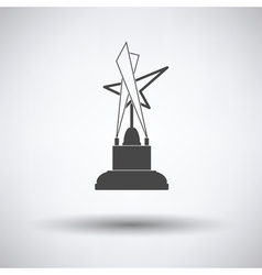Cinema award icon vector