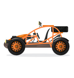 dune buggy car design element vector image vector image
