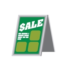 Shopping sale banner store icon graphic vector