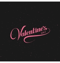 Valentines day holiday vector