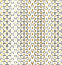 Black gold geometric vector