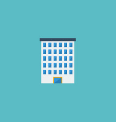 flat icon building element of vector image vector image