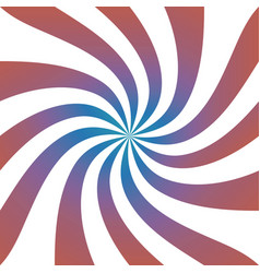 abstract colorful spiral background vector image vector image