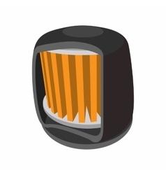 Automotive filter cartoon icon vector image vector image