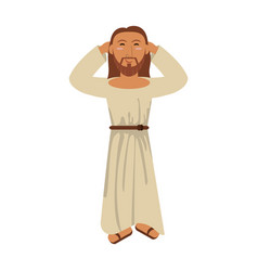 jesus christ religious catholicism image vector image
