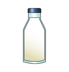 Isolated milk design vector