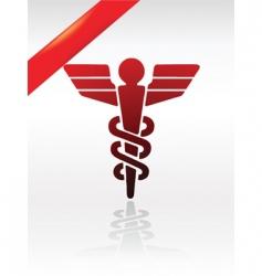 health symbol vector image