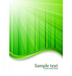 Vector green background vector