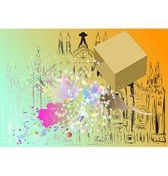 city festival vector image