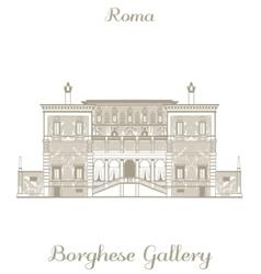 Borghese gallery vector
