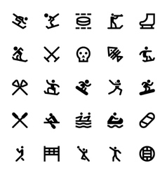 Sports and games icons 12 vector