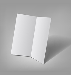 Bifold brochure template vector