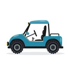 golf cart design element vector image vector image