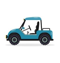 golf cart design element vector image