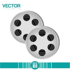 Movie icon design vector image vector image