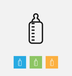 Of kin symbol on bottle vector