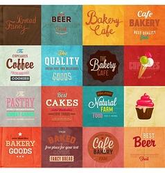 Retro Bakery Label vector image vector image