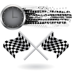 Speed background vector image