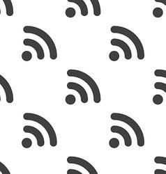 Wifi seamless pattern vector