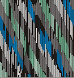 abstract diagonal ornament of strokes vector image